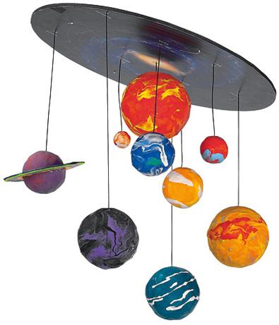 Планеты в детскую своими руками 18